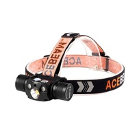 Acebeam Usb-C Rechargeable 4000 Lumen Led Headlamp - Red And 530Nm Green #h30Rg