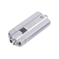 Acebeam 1000 Lumens Best Led Keychain Flashlight - 107M Long Throw Beam Silver #uc15-Silver