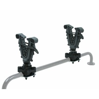 Atv Tek V-Grip Single Atv Rack Mount Rifle And Bow Holder