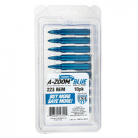 A-Zoom Precision Snap Cap 223 Rem Blue 10Pk 12322