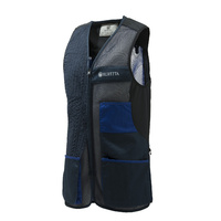 Beretta Uniform Pro Olympic Shooting Vest - Unisex Blue Total Eclipse & Blue Royal #gt761-T1553-05Az