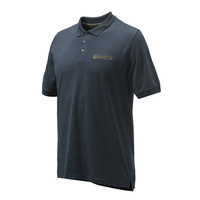 Beretta Corporate Polo - Cotton Blue Total Eclipse #mp431-T1354-0504