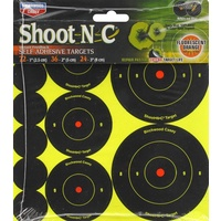 "Birchwood Casey Shoot-n-c 8"" Bullseye 6pk"
