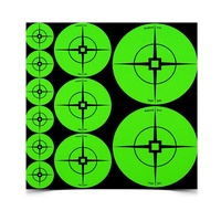 Birchwood Casey Target Spots Self Adhesive Shooting Targets - Green Assorted Size #33938