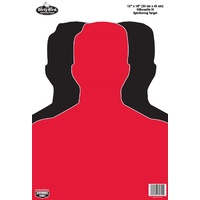 Birchwood Casey Dirty Bird 12 X 18 Hostage Targets - Pack Of 8 #bc-35708