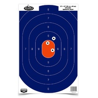 Birchwood Casey Dirty Bird 12 X 18 Silhouette Target - Blue Orange 8 Sheets #bc-35718