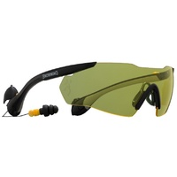 Browning Shooting Glasses With Sound Shield Anti Bruit Yellow Lense