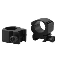 "Ccop Heavy Duty Tactical Scope Rings - 1-Pair Medium Profile 1"" Tube 20Mm Weaver Rail #ar-1003Wm"