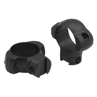 "Ccop Steel .22 Airgun Scope Rings - 1-Pair 1"" Tube Dovetail #srq1002Nm"