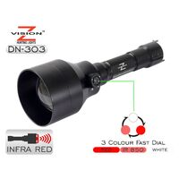 Eagleye Z-Vision Dn-303 Ultimate 3 In 1 Night Vision Ir Combo Torch - Wide Range #dn-303
