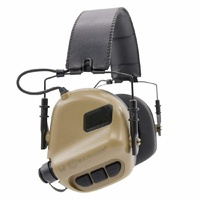 Earmor Electronic Shooting Earmuff Hearing Protector #m31 Coyote Brown