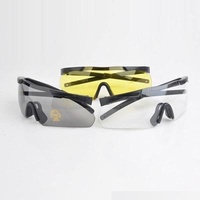 Earmor 400 Uv Protection Impact Resistant Blade Style Shooting Glasses #s01
