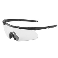 Earmor 400 Uv Protection Impact Resistant Blade Style Shooting Glasses #s01 Clear