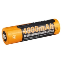 Fenix High-Capacity Rechargeable 21700 Li-Ion Battery - 4000Mah 3.6V #arb-L21-4000P