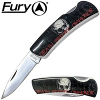 Fury Death Before Dishonor Folding Knife