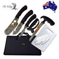 Elk Ridge  Game Processing Kit Hunting Skinning Knife W/case Er-925