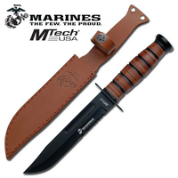 M-Tech Marines Fised Knife #k-Mt-122Mr