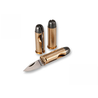 Fox 44 Magnum Cartridge Mini Folding Knife