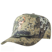 Hunters Element Desolve Veil Heat Beater Hunting Cap With Orange Stag