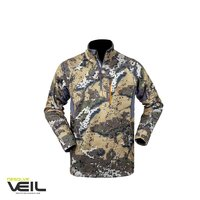 Hunter Element Elite Outdoor Breathable Stretch Top Tee - Desolve Veil #