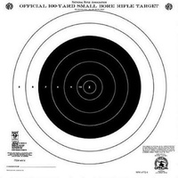 Hoppe's Competition 100 Yards Small Bore Rifle Target 20Pk #a14