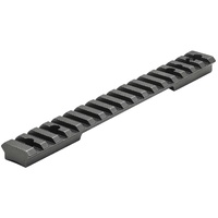 Leupold 1-Piece Backcountry Cross-Slot Scope Rail Base A-BOLT 3 LA 20 MOA Matte
