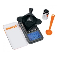 Lyman Pocket Touch 1500 Digital Scale w Powder Scoop, Check Weight n Powder Pan/Funnel
