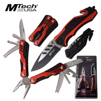 Mtech Hunting Multi-Tools & Pocket Foldable Knife - 18 Functions #mt-Pr-006