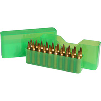 Mtm Rifle Slip-Top Ammo Box Green  30-30 Win/270/338 Wsm #J20-MLD-16