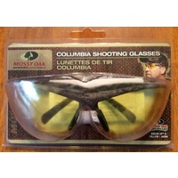 Mossy Oak Columbia Uv Shooting Glasses - Yellow Lens Camo Frame