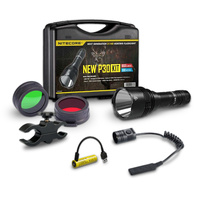 Nitecore P30 New Hunting Flashlight Kit - 1000 Lumens 5000Mha Rechargeable #p30Newhuntkit