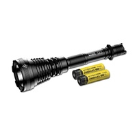 Nitecore Ultra Long Range Dual-Fuel Hunting Flashlight - Rechargeable 1200Lumen 1004 Meters #mh40Gtr