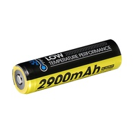 Nitecore 18650 Rechargeable Low Temperature Resistent Battery - 2900Mah #nl1829Ltp