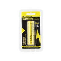 Nitecore 21700 Rechargeable Lithium Battery - 5000Mah 3.6V I Series #nl2150Hpi