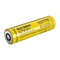 Nitecore 21700 Li-Ion Rechargeable Battery For R40V2 - 5000Mah #nl2150Dw