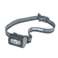 Nextorch Trek Star 140 Lumen 4-Mode LED Headlamp with 3 x AAA Batteries Black