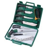 Outdoor Edge Game Processor 12pc Portable Hunting Butcher Set