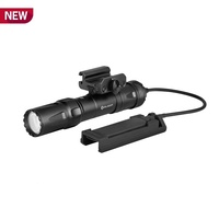 Olight Odin Tactical Rechargeable Flashlight Torch - With Remote Switch And Picatinny Mount #2000 Lumens