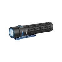 Olight Tactical Rechargeable Flashlight - 1500 Lumens 190 Meter Throwing Beam #warrior Mini