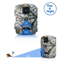 Olymbros 16Mp 1080P Waterproof No Glow Night Vision Trail Camera