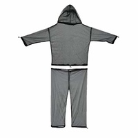 Ust Mosquito Net Body Suit L/xl Fine-Mesh Adjustable Pants And Jacket With Hood