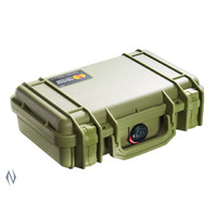 Pelican 1170 Small Handgun Protector Storage Case - Od Green #p1170Odg