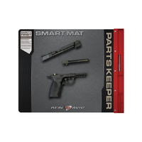 "Real Avid 19""x16'' Smart Handgun Cleaning Mat With Built In Parts Keeper"