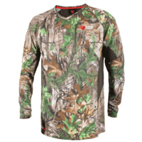 Q-wick Dry Long Sleeve Shirt - Realtree Xtra Green/bayleaf