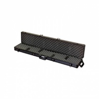 Spika 52 Inch Single Firearm Rifle Hard Case - Lockable Airline Approved With Wheels #src-B