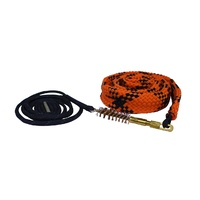 Spika Barrel Pull Through Cleaning Rope Bore Gun Care Snake Rope Mop Brush - 12G #cpt-12G