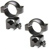 "Tasco World Class Rimfire High Rings For 1"" Rifle Scopes .22/ Airgun Peep 799Dsc"