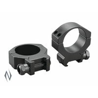 Tasco Tactical Rings  34Mm Low Black Matte