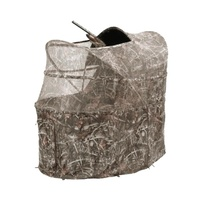 Pop Up Camo Net Tent Chair