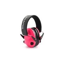 Xhunter Electronic Protective Earmuffs - Low Set Compact Pink #ee1621P